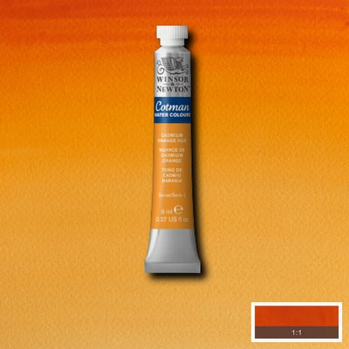 Cotman Water Colour Cadmium Orange Hue, tube 8 ml.