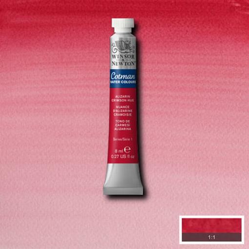 Cotman Water Colour Alizarine Crimson Hue, tube 8 ml.