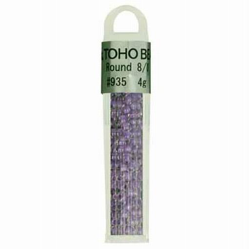 TOHO glaskralen paars