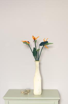 Haakpatroon Exotische bloem