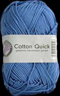 Haakkatoen Cotton Quick jeansblauw 15