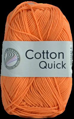 Haakkatoen Cotton Quick mandarijn 24