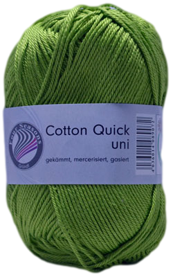 Haakkatoen Cotton Quick grasgroen 84