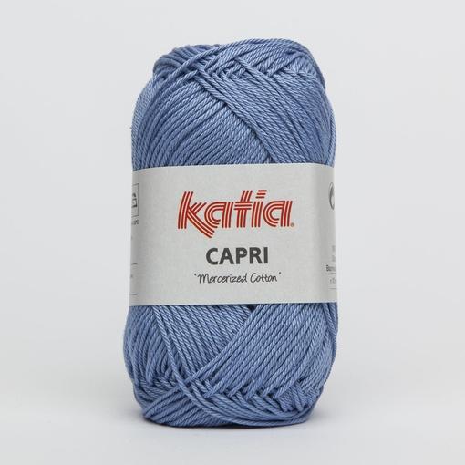 Haakkatoen Capri zeeblauw / jeans 103