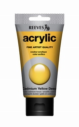 Reeves, 75 ml. - cadmium yellow deep