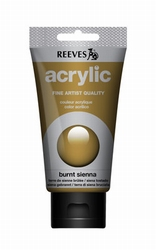 Reeves, 75 ml. - burnt sienna