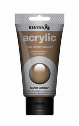 Reeves, 75 ml. - burnt umber