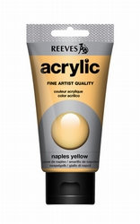 Reeves, 75 ml. - naples yellow