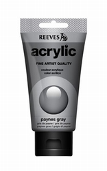 Reeves, 75 ml. - paynes grey