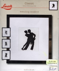 Dancing couple 3, telpakket
