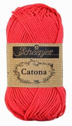 Haakkatoen Catona camelia rose 256