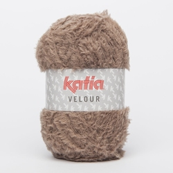 Velour taupe 52