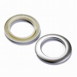 Clickringen Prym, 40 mm., zilverkleurig