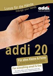 Rondbreinaald 3,25 mm 20 cm metaal Addi