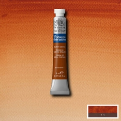 Cotman Water Colour Burnt Sienna, tube 8 ml.