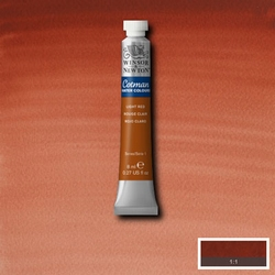 Cotman Water Colour Light Red, tube 8 ml.