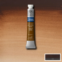 Cotman Water Colour Burnt Umber, tube 8 ml.