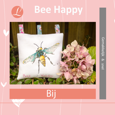 Bee Happy handwerkpakket Bij