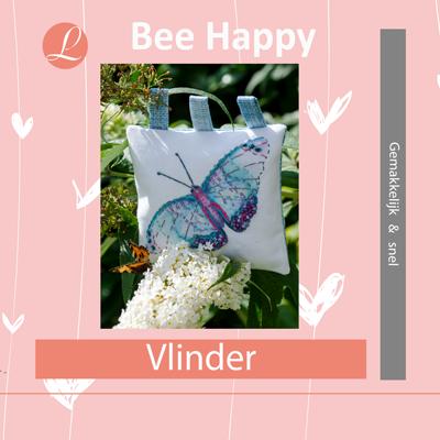 Bee Happy handwerkpakket Vlinder