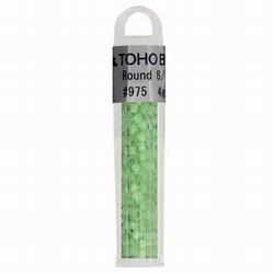TOHO glaskralen groen