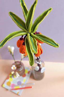Haakpatroon Exotische bloem deel 2