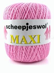 Haakkatoen MAXI roze 749