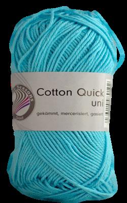 Haakkatoen Cotton Quick turquoise 85